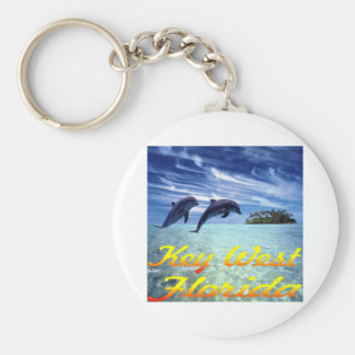 Key West Florida Dolphins Key Ring