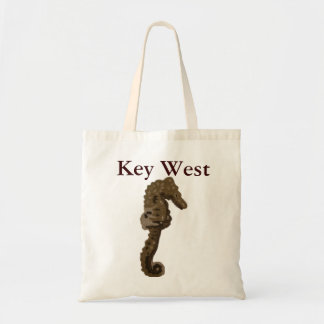 Key West Florida Seahorse Tote Bag