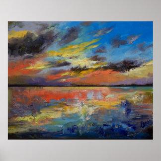 Key West Florida Sunset Poster