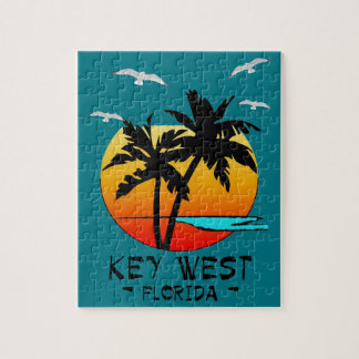 KEY WEST FLORIDA TROPICAL DESTINATION JIGSAW PUZZLE