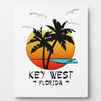 KEY WEST FLORIDA TROPICAL DESTINATION PLAQUE