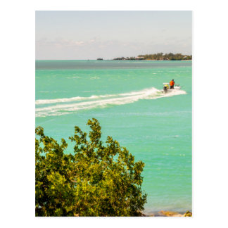 key west florida turquoise water keys beaches natu postcard
