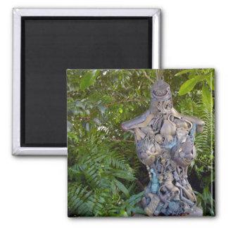 Key West Garden Sculpture Magnet