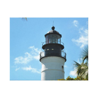 Key West Historic Light House Stretched Canvas Prints