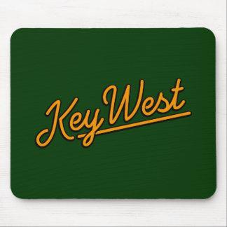 Key West in orange Mousepad