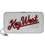 Key West in red Travel Speaker