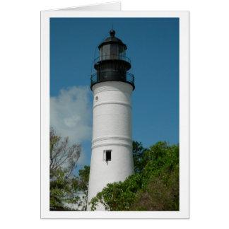 Key West Lighthouse (Blank) Card