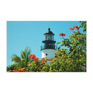 Key West Lighthouse, Florida Stretched Canvas Prints