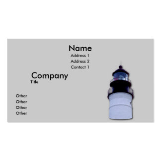 Key West Lighthouse Pack Of Standard Business Cards