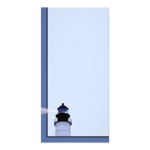 Key West  Lighthouse Personalized Photo Card