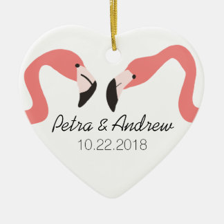 Key West Modern Whimsy Couple's Ceramic Ornament