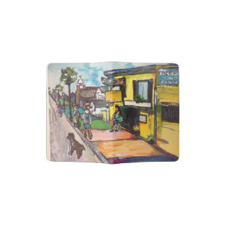 Key West Painting Passport Holder