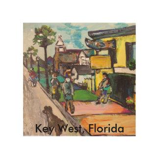 Key West Painting Wood Wall Art