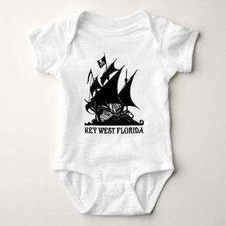 Key West Pirates Baby Bodysuit