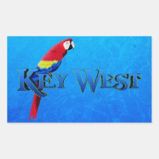 Key West Rectangular Sticker