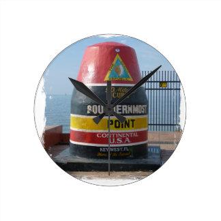 Key West Round Clock