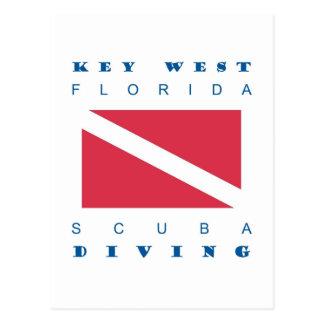 Key West Scuba Dive Post Cards