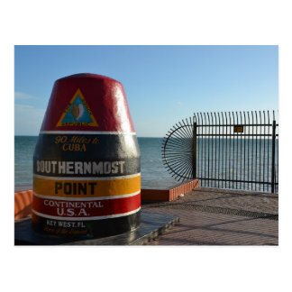 Key West Southernmost Point Postcard