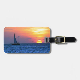 Key West Sunset Luggage Tag
