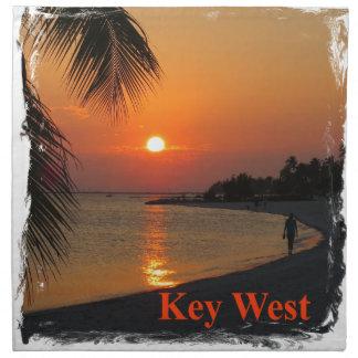 Key West Sunset Napkin