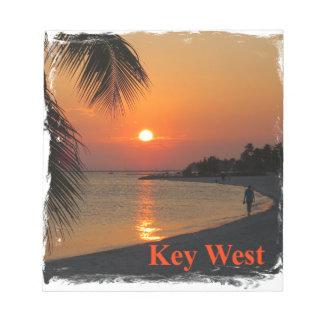 Key West Sunset Notepad