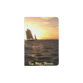 Key West Sunset Photo Passport Book Passport Holder