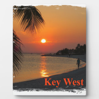 Key West Sunset Plaque