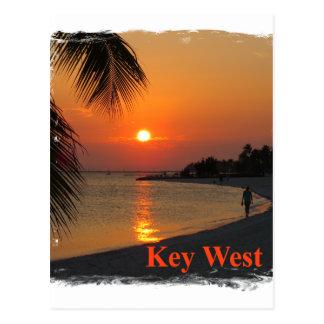 Key West Sunset Postcard