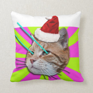 Keyboard Cat BOOGIE DOWN Chriostmas pillow