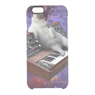 keyboard cat - cat memes - crazy cat clear iPhone 6/6S case