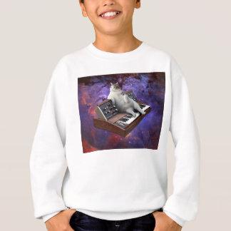 keyboard cat - cat memes - crazy cat sweatshirt