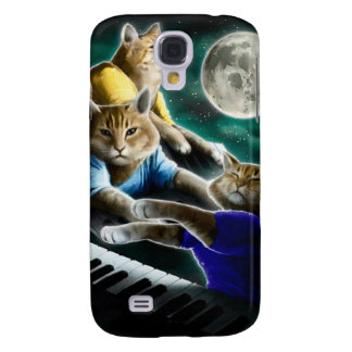 keyboard cat - cat music - cat memes samsung galaxy s4 case