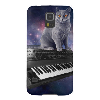 keyboard cat - cat music - space cat galaxy s5 cases