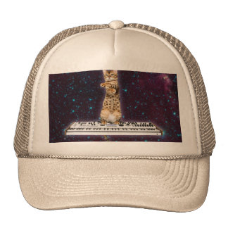keyboard cat - funny cats  - cat lovers cap