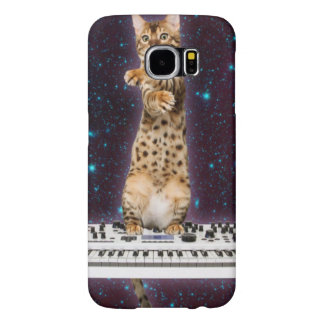keyboard cat - funny cats  - cat lovers samsung galaxy s6 cases