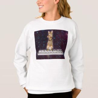 keyboard cat - funny cats  - cat lovers sweatshirt