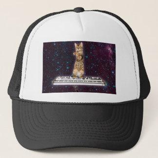 keyboard cat - funny cats  - cat lovers trucker hat