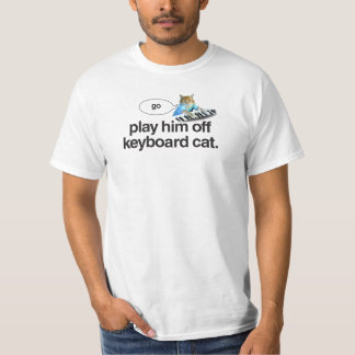 keyboard cat go shirt
