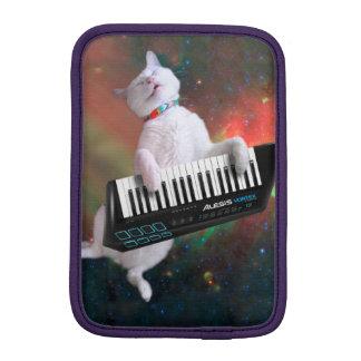Keyboard cat - space cat - funny cats - galaxy cat iPad mini sleeve