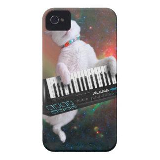 Keyboard cat - space cat - funny cats - galaxy cat iPhone 4 Case-Mate case