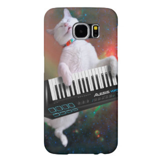 Keyboard cat - space cat - funny cats - galaxy cat samsung galaxy s6 cases