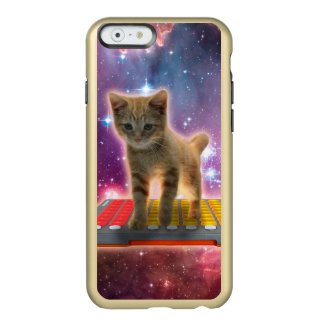 keyboard cat - tabby cat - kitty incipio feather® shine iPhone 6 case