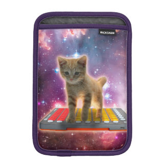keyboard cat - tabby cat - kitty iPad mini sleeve