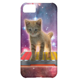 keyboard cat - tabby cat - kitty iPhone 5C case
