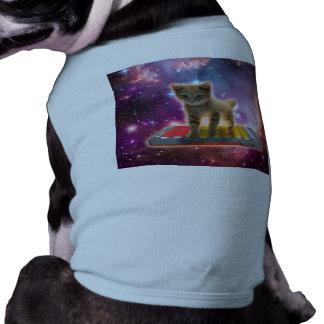 keyboard cat - tabby cat - kitty shirt