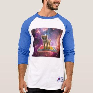 keyboard cat - tabby cat - kitty T-Shirt