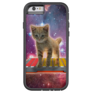 keyboard cat - tabby cat - kitty tough xtreme iPhone 6 case