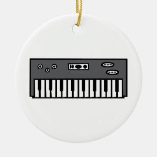 Keyboard Ceramic Ornament