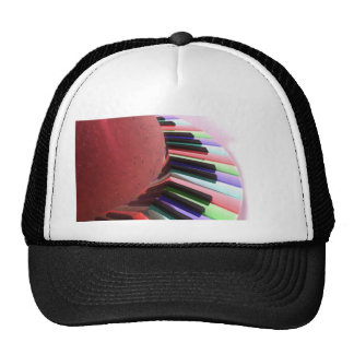 Keyboard Chaos Bright on Black Hat