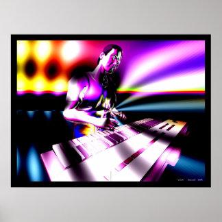 Keyboard FX Poster